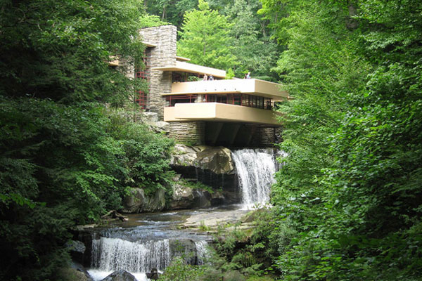 Frank lloyd wright le plus am ricain des architectes for Maison style americain interieur
