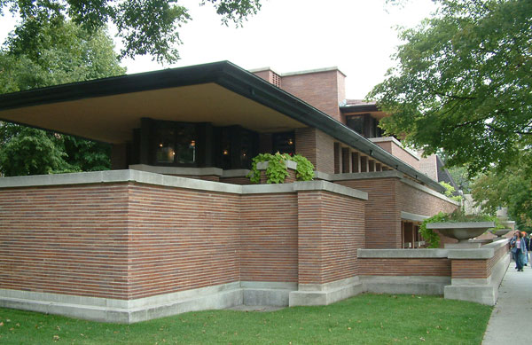 Frank lloyd wright le plus am ricain des architectes for Architecture maison style americain